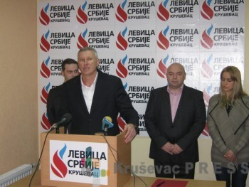 Radoslav Komlenović je iz Jedinstvene Srbije prešao u Levicu Srbije FOTO: S. Milenković