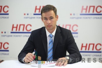 Miroslav Aleksić, predsednik Narodnog pokreta Srbije