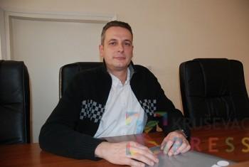 Milivoje Dimitrijević, portparol Višeg suda u Kruševcu FOTO: S. Milenković
