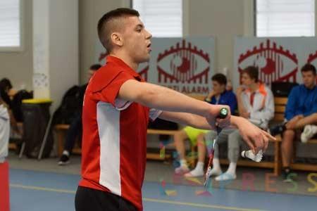 Luka Milić na šampionatu Evrope