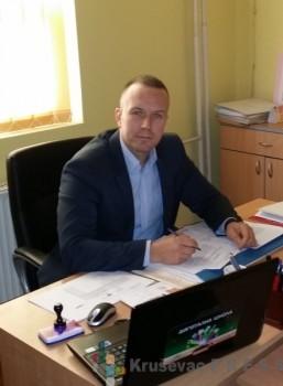 """Andrija Živadinović, direktor OŠ """"Dragi Makić"""""""
