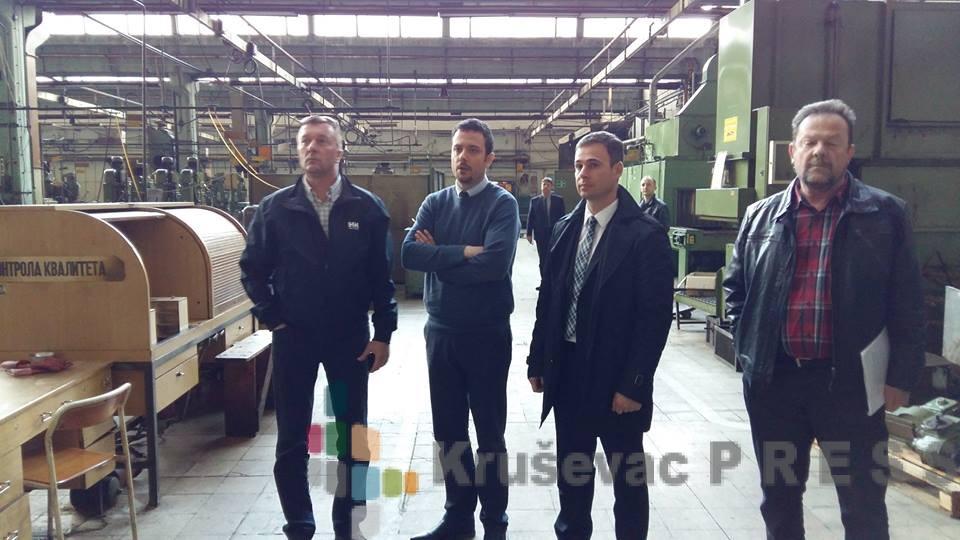"""Umesto u Kruševcu """"Delfi"""" otvara fabriku u Trsteniku?"""
