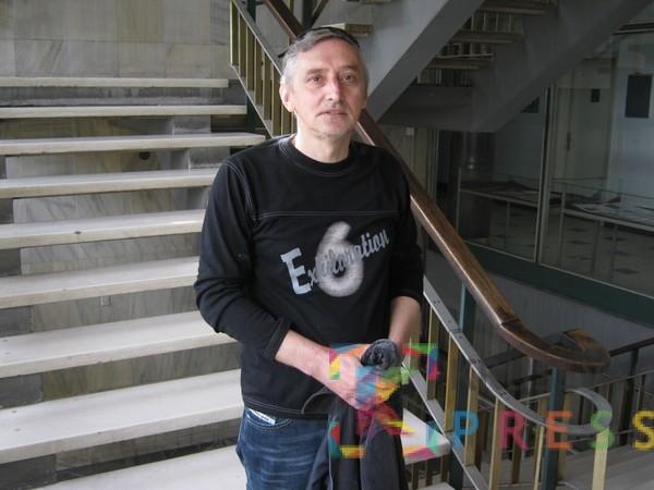"Draško Jovanović je u IMK ""14. oktobar"" radio 31 godinu FOTO: S. Milenković"