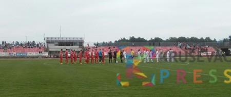 Fudbaleri pobedili u Kragujevcu