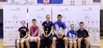 Uspeh članova Badminton kluba Zmajevi na turniru u Novom Sadu