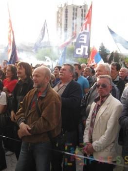 Miting SRS u Kruševcu FOTO: S. Milenković