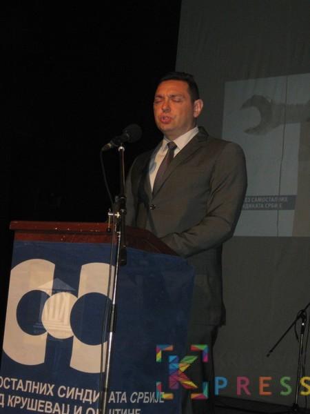 Aleksandar Vulin je najavio donošenje novih zakona FOTO: S. Milenković