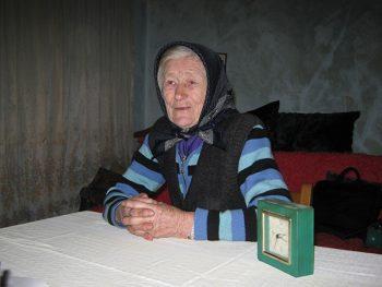 Baka Jovanka se hrani u Narodnoj kuhinji Crvenog krsta FOTO: S. Milenković