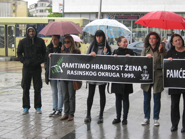 Sećanje na protest žena 1999. godine