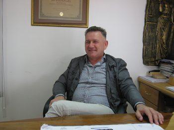 """Dušan Kolarević, vlasnik kompanije """"Kolarević"""" d.o.o. FOTO: S. Milenković"""