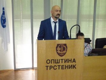 Aleksandar Ćirić, novi predsednik Opštine Trstenik FOTO: S. Milenković