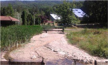 Na jezeru na Jastrepcu odrađena je samo prva faza radova FOTO: JP Srbijavode