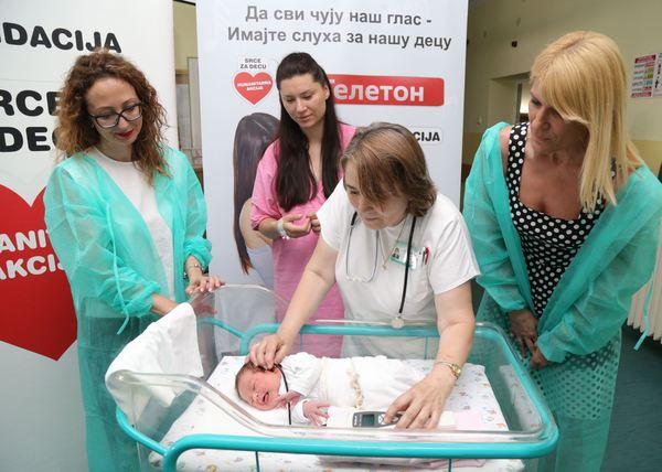 Svakoj bebi u Kruševcu biće proveren sluh