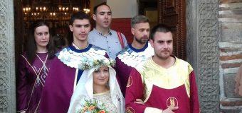Prvo srednjevekovno venčanje u Lazarevom gradu