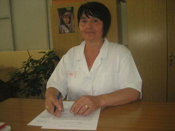 LJiljana Šutanovac, socijalna radnica u Domu zdravlja Kruševac FOTO: S. Babović