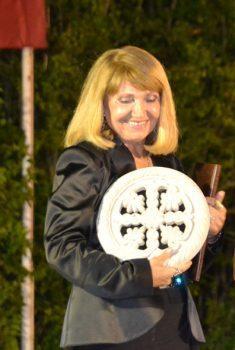 Ljiljana Stjepanović sa Belovodskom rozetom FOTO: S. Milenković