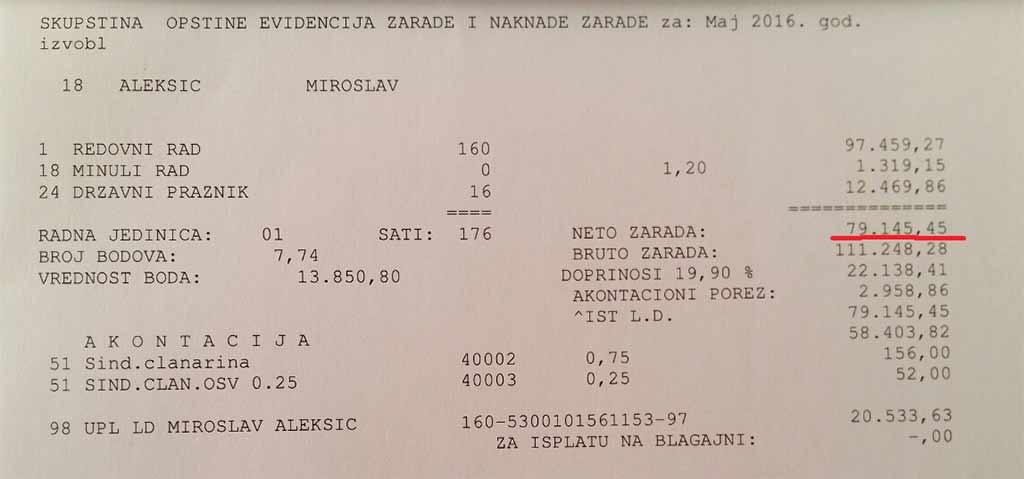 Smanjenja plate predsednika Opštine Trstenik – šta je istina?