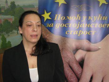"""Marija Vesligaj, koordinatorka projekta """"Pomoć u kući za dostojanstvenu starost"""" FOTO: S. Milenković"""