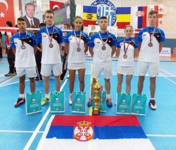 Reprezentacija Srbije na Balkanijadi u Bursi