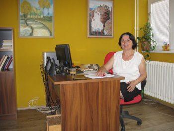 Milka Pavlović, viši fizioterapeut u Gerontološkom centru FOTO: S. Tomić