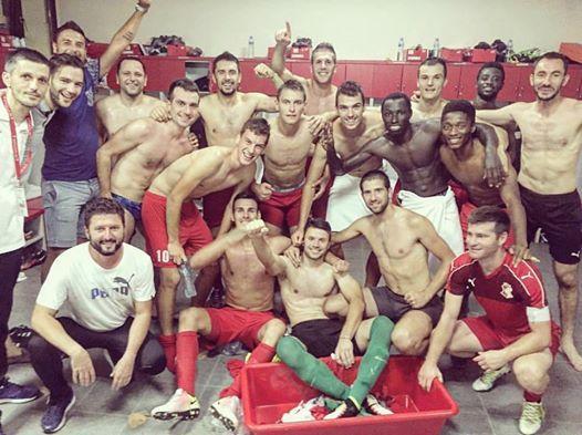 Krusevac01 fudbaleri napretka slave pobedu nad partizanom