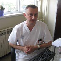 Dr Dejan Milosavljević, rukovodilac Odeljenja palijative u Opštoj bolnici Kruševac FOTO: S. Milenković