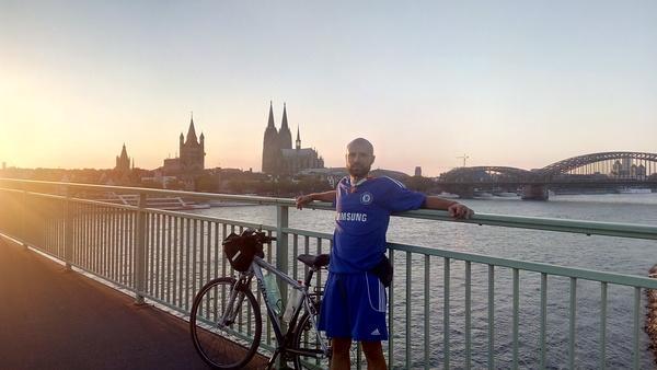 Kruševljanin Miloš Milanović biciklom krstari po Evropi