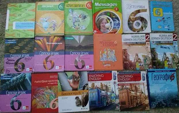 Sajam polovnih udžbenika za osnovce