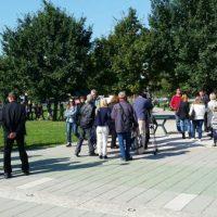 Protestni skup roditelja iz Medveđe i Bogdanja FOTO: KruševacPress