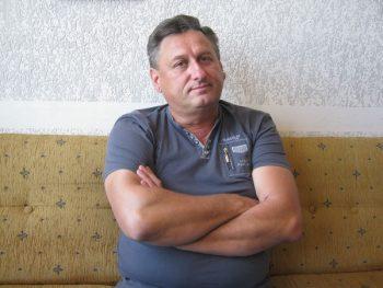 Miroljub Milanović - Cara humanitarnim radom čuva uspomenu na svog tragično nastradalog sina Marka FOTO: S. Milenković