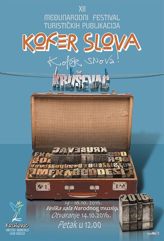 Kofer slova za Dan grada