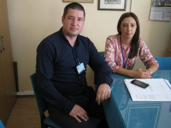 Pravnik Vladimir Antić i diplomirani socijalni radnik Sandra Antić FOTO: CINK - S. Milenković