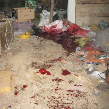 Mesto ubistva i samoubistva u Kukljinu FOTO: CINK - S.Milenković
