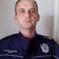 Komandir Policijske stanice u Varvarinu Slavoljub Anđelković