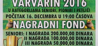 Futsal turnir Varvarin 2016.
