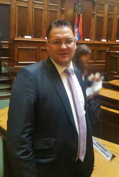 Milan Mihajlović, zamenik opštinskog javnog tužioca u Brusu FOTO: Privatna arhiva