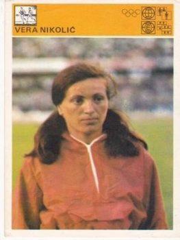 Vera Nikolić je 1968. godine u Londonu postavila svetski rekord koji je srušen tri godine kasnije FOTO: Arhivska fotografija