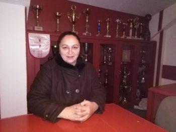 """Ljiljana Knežević posle osam godina u prostorijama """"žorkica"""" FOTO: CINK - S.Milenković"""