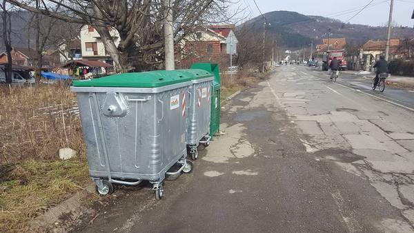 AKCIJA ZA ČISTIJA SELA: Postavljeno 60 kontejnera