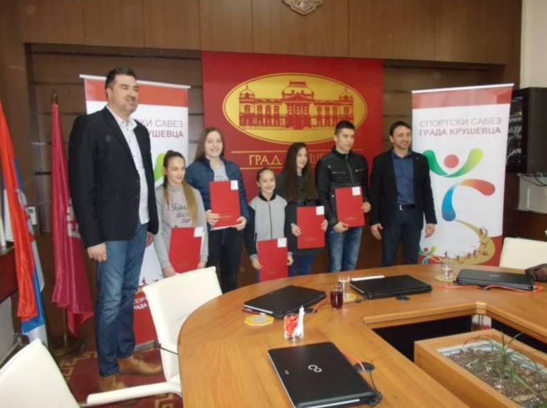 Promovisana nova generacija stipendista Sportskog saveza