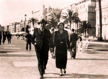 Krsta Novaković sa suprugom FOTO: Privatna arhiva