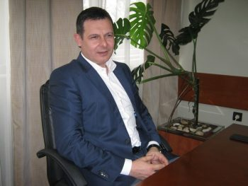 Ivan Mijajlović, predsednik Fonda za populacionu politiku Grada Kruševca FOTO: CINK - S.Milenković