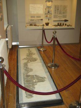Podni mozaik iz crkve sa Nebeskih stolica potiče iz V ili VI veka FOTO: CINK - S.Milenković