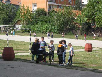 """Osnovna škola """"Nada Popović"""" je jedna od retkih škola u kojima se broj učenika nije smanjio FOTO: CINK - S.Milenković"""