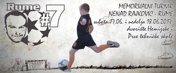 "Memorijalni turnir ""Nenad Rajković Rume"""