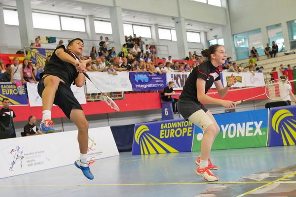 Uspeh Kruševljana: Lukić prvi, Sudimčeva druga  na rang listi Evropske badminton konfederacije!