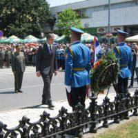 Predsednik Srbije je položio venca na Spomenik kosovskim junacima FOTO: CINK - S.Milenković