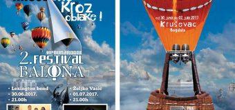 Drugi međunarodni festival balona u Kruševcu