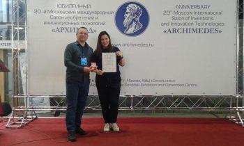 Kruševački inovatori na sajmu u Moskvi FOTO: Privatna arhiva