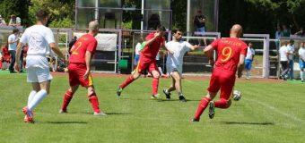 Fudbalska utakmica monarhista Srbije i Rumunije